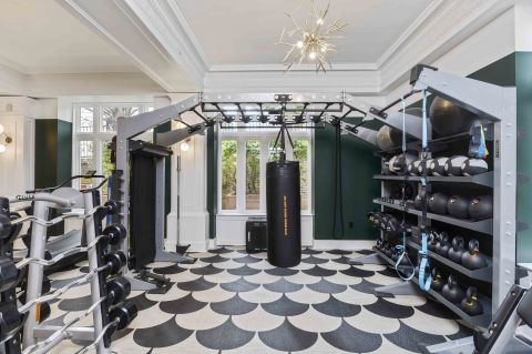 Camden Roosevelt Apartments Fitness Center with Boxing Area in Washington, DC