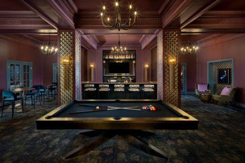 Roosevelt Bar at Camden Roosevelt Apartments in Washington, DC metro near DuPont Circle