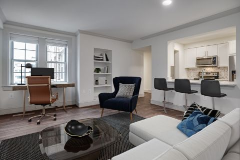 Home Office Space at Camden Roosevelt Apartments in Washington, DC