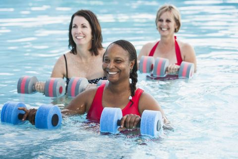 Fitness Classes at Camden Royal Oaks Apartments in Houston, TX
