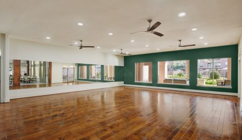 Dance Floor at Camden Royal Oaks Apartments in Houston, TX