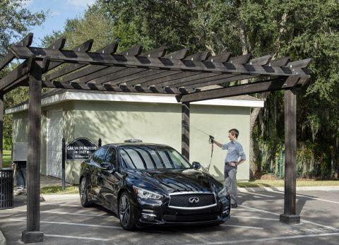 Car Wash at Camden Royal Palms Apartments in Brandon, FL