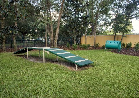Dog Park at Camden Royal Palms Apartments in Brandon, FL