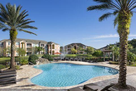 Pool at Camden Royal Palms Apartments in Brandon, FL