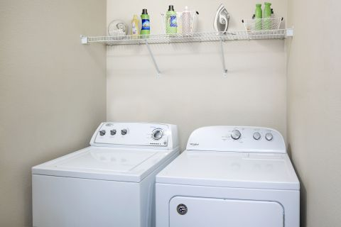 Washer and Dryer at Camden Royal Palms Apartments in Brandon, FL