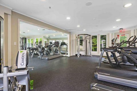 Fitness Center at Camden Russett Apartments in Laurel, MD