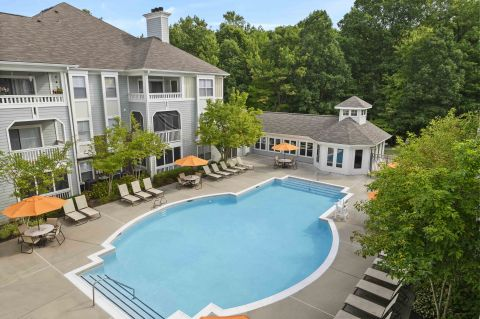 Pool at Camden Russet Apartments in Laurel, PG County Maryland