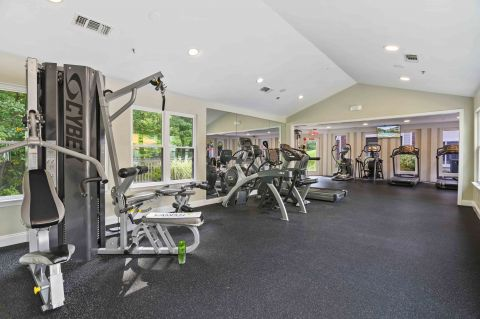 Fitness Center at Camden Russet Apartments in Laurel, PG County Maryland