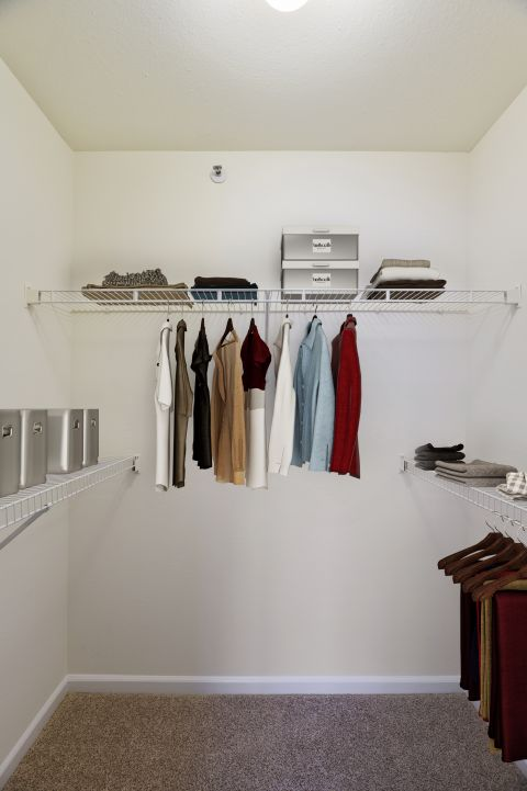Walk-In Closet at Camden Russet Apartments in Laurel, PG County Maryland
