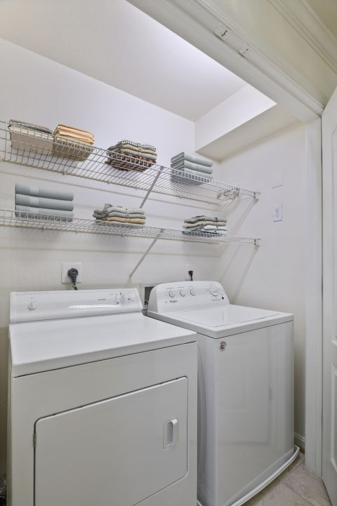 In-Unit Laundry at Camden Russet Apartments in Laurel, PG County Maryland