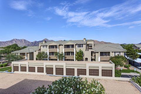 Garages at Camden San Marcos Apartments in Scottsdale, AZ