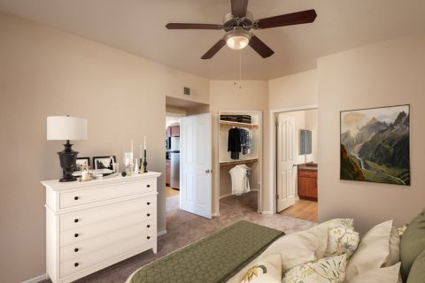 Bedroom at Camden San Paloma Apartments in Scottsdale, AZ