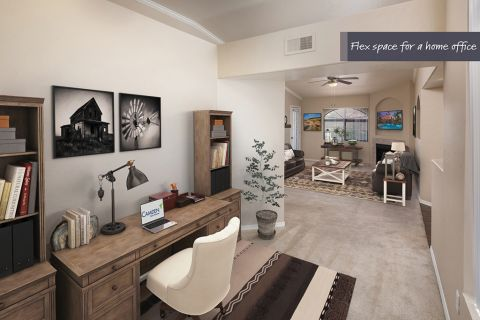 Flex Space at Camden San Paloma Apartments in Scottsdale, AZ