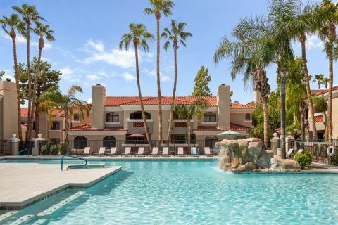 Swimming Pool at Camden San Paloma Apartments in Scottsdale, AZ