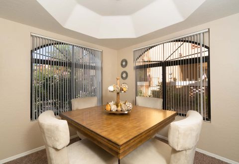 Dining Area at Camden San Paloma Apartments in Scottsdale, AZ