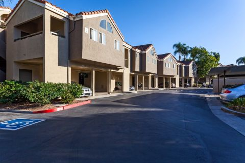 Parking at Camden Sea Palms Apartments in Costa Mesa, CA