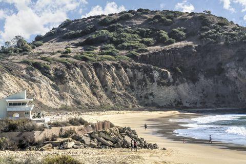 Pacific coach beach and views at Camden Sea Palms Apartments in Costa Mesa, CA