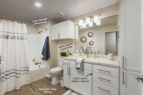 Bathroom at Camden Sierra at Otay Ranch Apartments in Chula Vista, CA