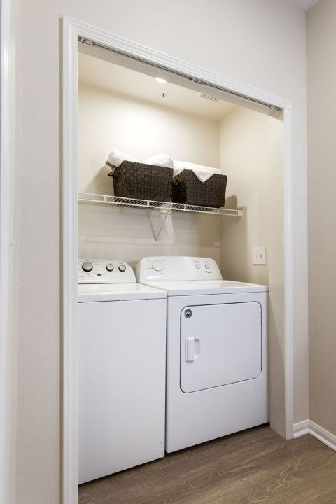 Full-Size Washer and Dryer at Camden Sierra at Otay Ranch Apartments in Chula Vista, CA