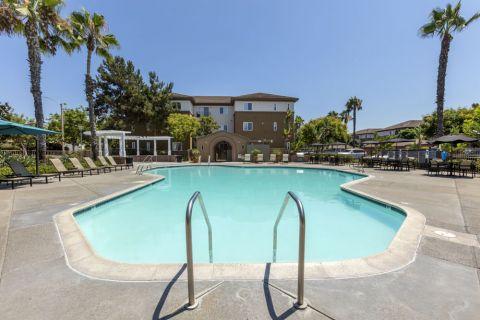Swimming Pool at Camden Sierra at Otay Ranch Apartments in Chula Vista, CA
