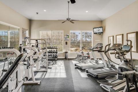 Fitness Center at Camden Silo Creek in Ashburn, Virginia
