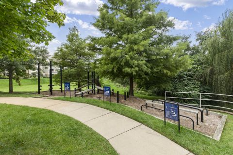 Outdoor Fitness at Camden Silo Creek Apartments in Ashburn, VA