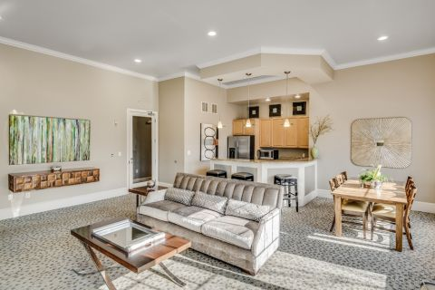 Resident Lounge at Camden Silo Creek in Ashburn, Virginia