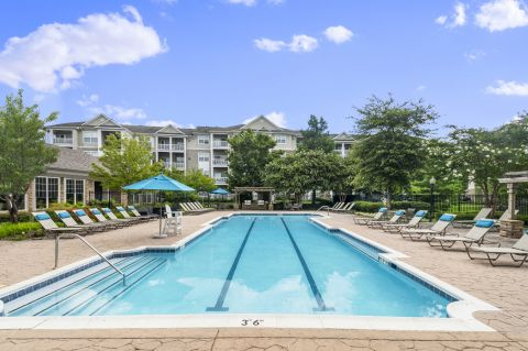 Pool at Camden Silo Creek Apartments in Ashburn, VA