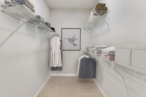 Walk-In Closet at Camden Silo Creek Apartments in Ashburn, VA