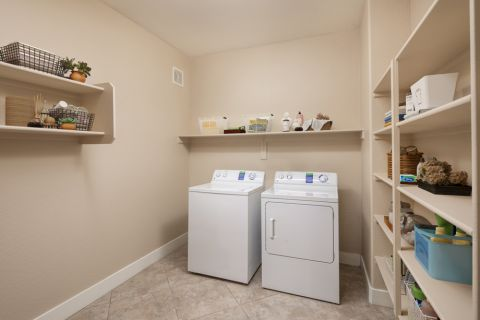 Penthouse Laundry Room at Camden Sotelo Apartments in Tempe, Arizona
