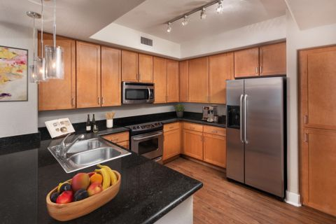 Kitchen at Camden Sotelo Apartments in Tempe, Arizona