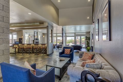 Resident Clubhouse at Camden Sotelo Apartments in Tempe, AZ