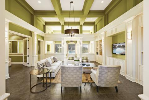 Social Lounge at Camden South Bay Apartments in Corpus Christi, TX