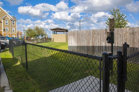Dog Park at Camden South Bay Apartments in Corpus Christi, TX