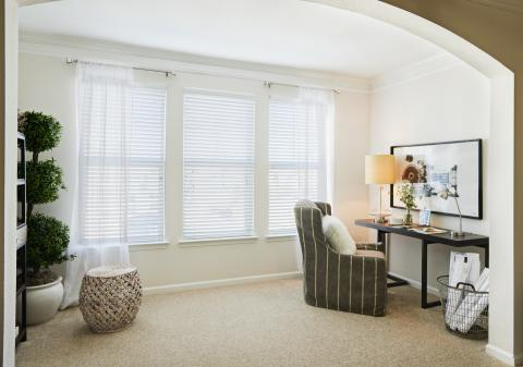 Sun Room and Home Office at Camden South Bay Apartments in Corpus Christi, TX