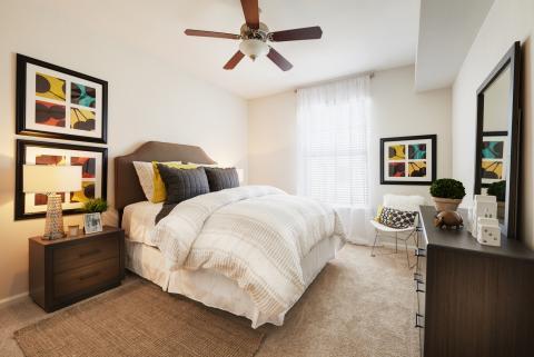 Bedroom at Camden South Bay Apartments in Corpus Christi, TX