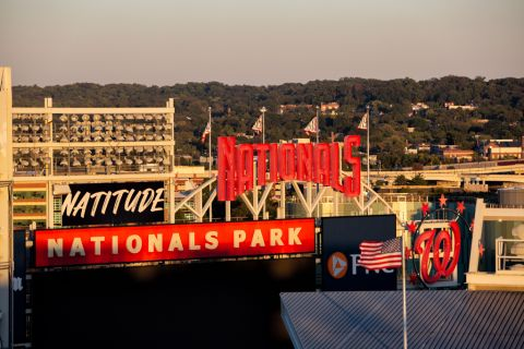 Washington Nationals Ballpark at Camden South Capitol Apartments in Washington, DC