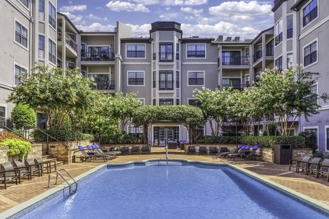 Resort-style Swimming Pool at Camden South End Apartments in Charlotte, NC