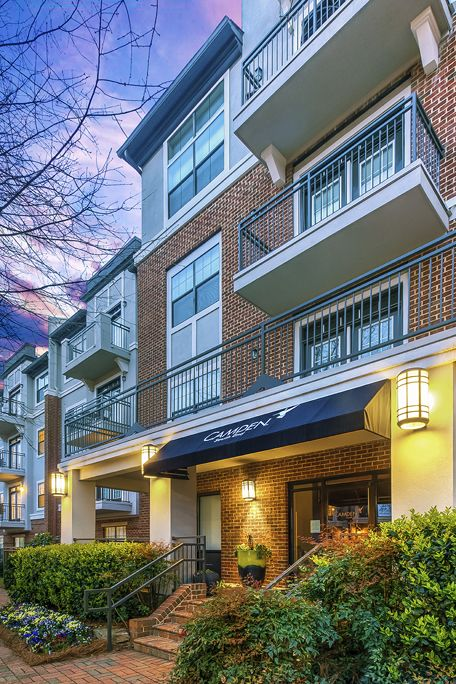 Exterior at Camden South End Apartments in Charlotte, NC