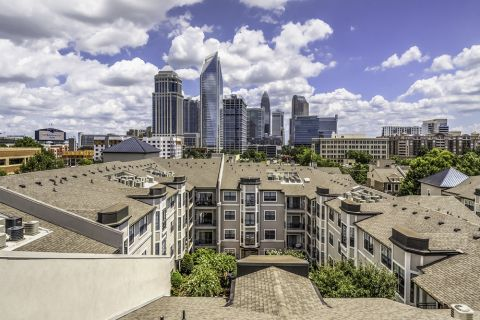 Skyline Views at Camden South End Apartments in Charlotte, NC