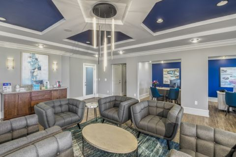 Resident Lounge at Camden South End Apartments in Charlotte, NC