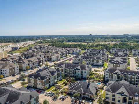 Pet-Friendly Community located in Spring and The Woodlands at Camden Spring Creek Apartments in Spring and The Woodlands, TX