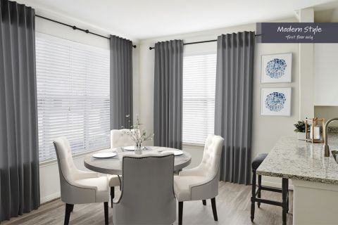 Modern Style Dining Area at Camden Spring Creek Apartments in Spring and The Woodlands, TX
