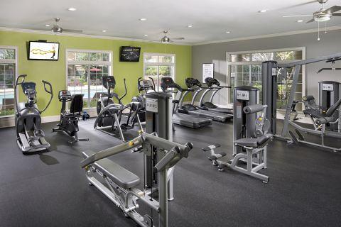 Fitness Center at Camden St Clair Apartments in Atlanta, GA