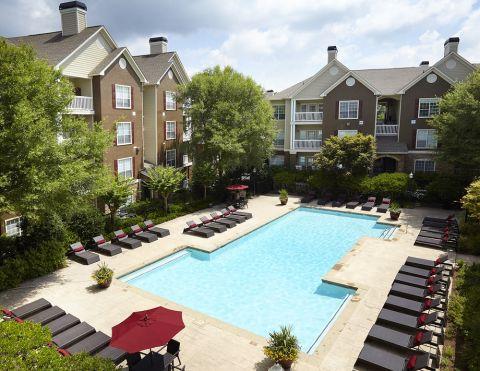 Pool at Camden St Clair Apartments in Atlanta, GA