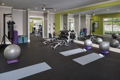Yoga Studio at Camden St Clair Apartments in Atlanta, GA
