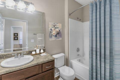 Bathroom at Camden St. Clair Apartments in Atlanta, GA