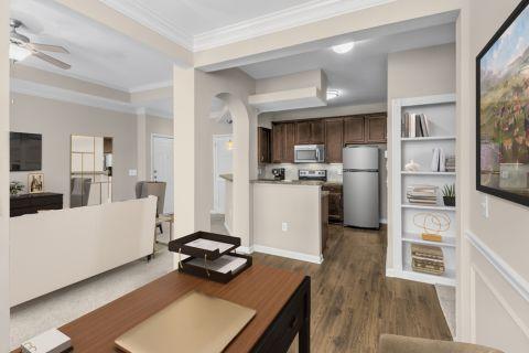 Flex office space at Camden St. Clair Apartments in Atlanta, GA