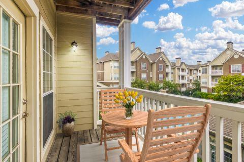 Balcony at Camden St. Clair Apartments in Atlanta, GA