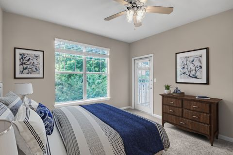 Second Bedroom at Camden Stockbridge Apartments in Stockbridge, GA